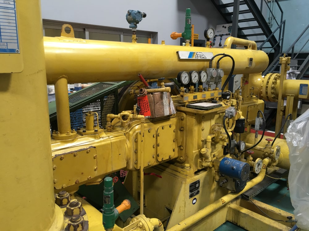 Retrofit or reconditioning of ABC compressors