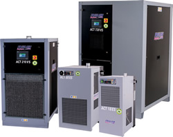 Secadores ACT Ahorro de energía para instalaciones HPP